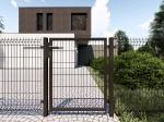 Nylofor Premium Pedestrian Swing Gate - 140cm Anthracite