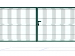 3D Essential Double Wing Swing Gate - 153cm Green