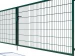 Brama dwuskrzydłowa Nylofor Premium - 160cm Zielona