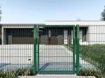 Nylofor 2D Premium Panel - 123cm Zielony