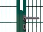 Nylofor Premium Double wide Swing Gate - 140cm Green