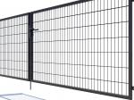 Brama dwuskrzydłowa Nylofor Premium - 160cm Antracytowa