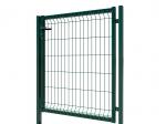 3D Essential Pedestrian Gate - Right Opening 123cm Green
