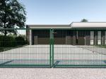 Nylofor 2D Premium Panel - 143cm Green