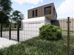 Nylofor 3D Premium Panel - 153cm Anthracite