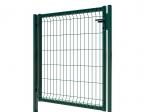 Furtka 3D Essential lewa- 123 cm Zielona