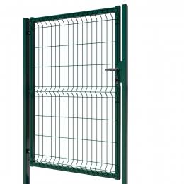 3D Essential Pedestrian Gate - Left Opening 153cm Green
