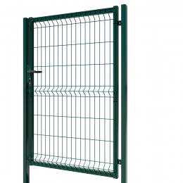 3D Essential Pedestrian Gate - Right Opening 153cm Green