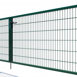 Brama dwuskrzydłowa Nylofor Premium - 120cm Zielona