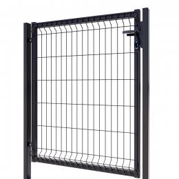 3D Essential Pedestrian Gate - Left Opening 123cm Anthracite