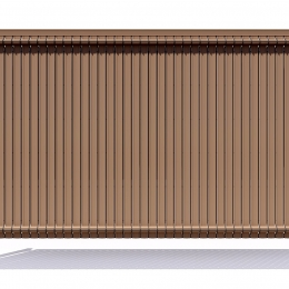 Nylofor 3D Premium Screeno line -  153cm Wood