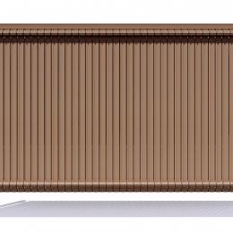 Nylofor 3D Premium Screenoline - 123cm Wood