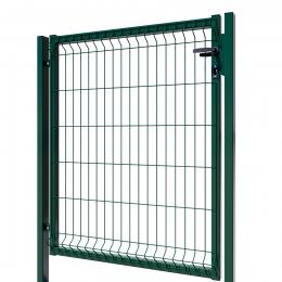 3D Essential Pedestrian Gate - Left Opening 123cm Green